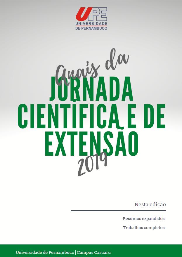Visualizar v. 4 n. 1 (2019): Anais da Jornada Científica e de Extensão 2019