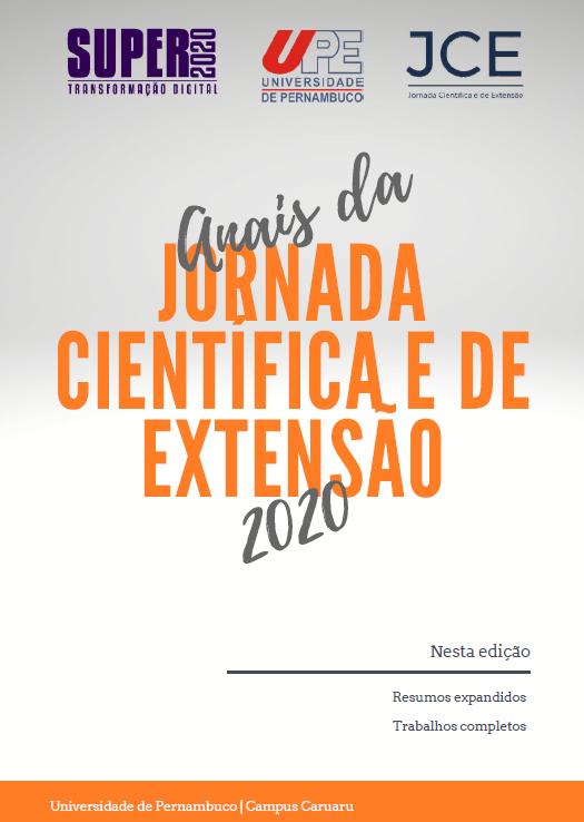 Visualizar v. 5 n. 1 (2020): Anais da Jornada Científica e de Extensão 2020